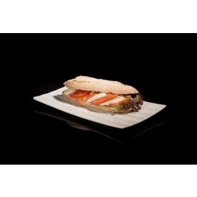 Tomate-Mozarella-Sandwich